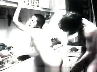 Rough Invasion In A Diminutive Kitchen
