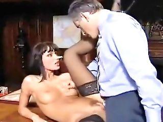 Anita Blonde Fucks Her Chief Gioventu' Bruciata Original Audio