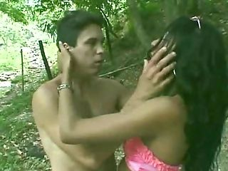Transsexual Karol Castro With Paulo Macky..