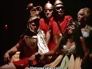 Imperator's Lovemaking Orgy Of Youthfull Women (1970s Antique)