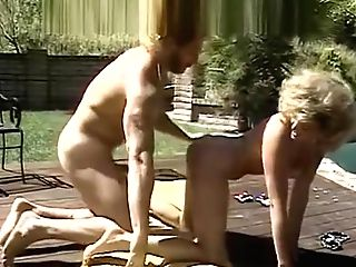 Married Duo Fuck Near Pool