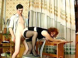 Horny Homemade Pussy Eating, Red-haired Adult Movie