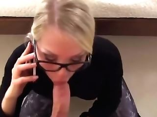 The German Woman Didn't Want To Put Down The Phone!