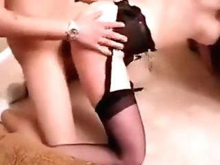 Sexy Cougar Stacy Fillmore Banging In Stockings