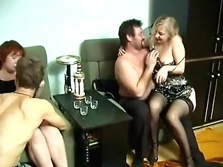 Horny Obsession, Group Fuckfest Porno Movie