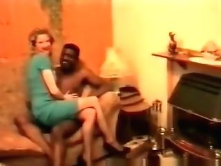 Antique Black Dude Fucks, Milky Chick Coochie Out Part Two