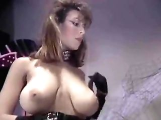 Christy Canyon As Mistress, Peter North Is The Sub