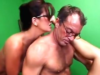 Mom And Daughter-in-law Fuck Older Fellow