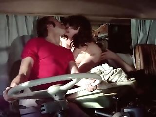 Antique Porno: Spanish Sex Industry Star Lina Romay Orgy Scene In Rolls Royce Babe