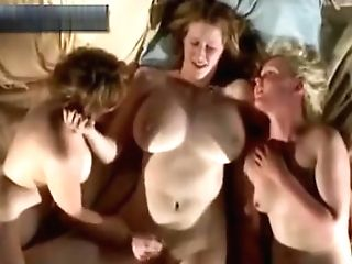 Three Lesbos Masturbating