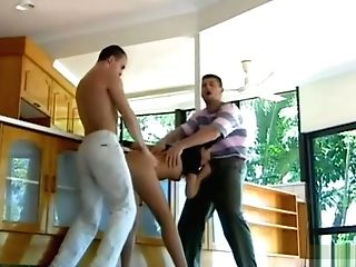 Jeanette Loves Double Penetration In A Gang-fuck In Private Classics