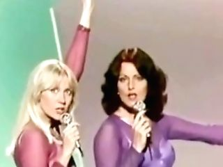 Abba (nonude) Dissynchronized Song With Cameltoe Stockings